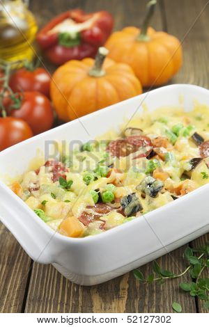 Baked Vegetables