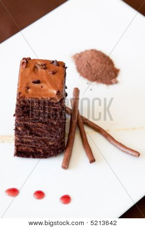Chocolate Sponge Dessert