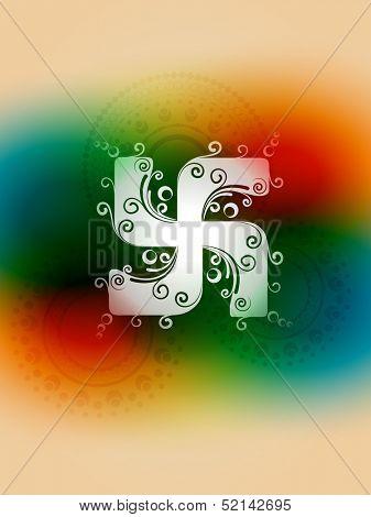 vector creative swastika symbol design