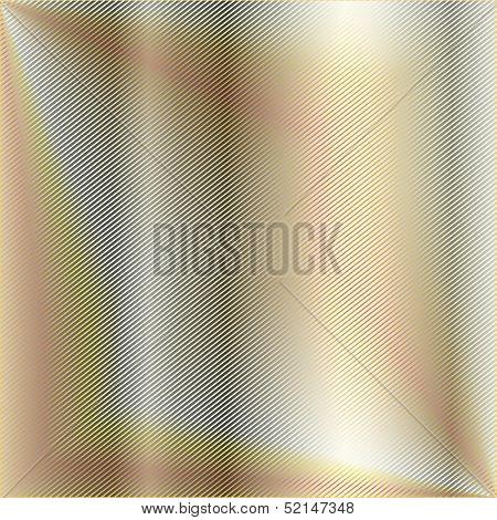 High grade gold metal background