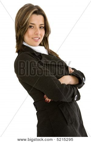 Arms Crossed Businesswoman