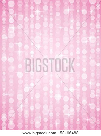 Pink Defocused Brightnes  Background. Bright Bokeh