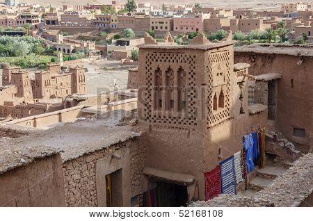 Morocco, Draa Valley, Kasbah