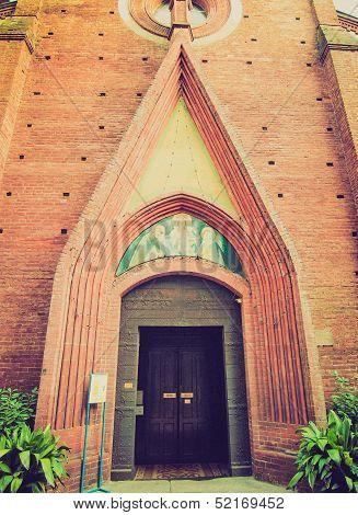 Retro Look San Domenico Church, Turin
