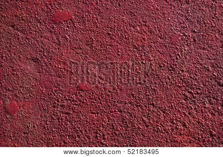 Red Colored concrete wall surface texture backdrop