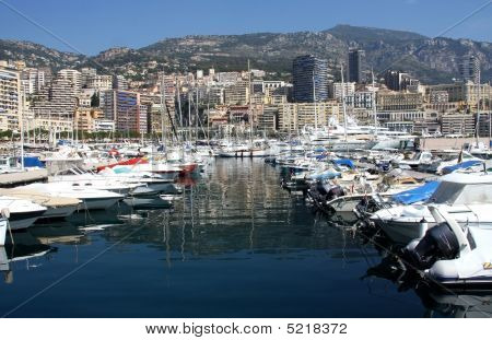 Harbor At Monte Carlo