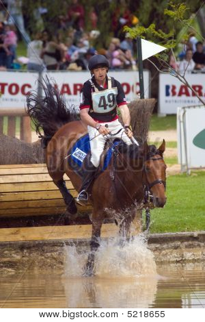 David Middleton riding on Mr Shirvington
