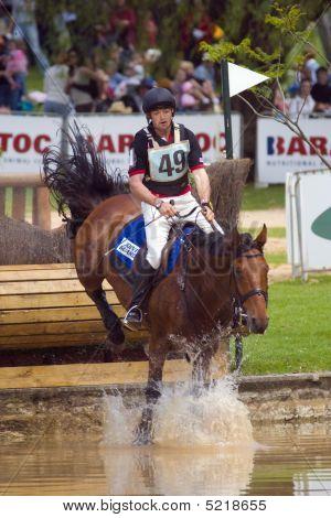 David Middleton riding on Mr Shirvington