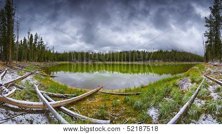 Scaup Lake, Yellowstone National Park