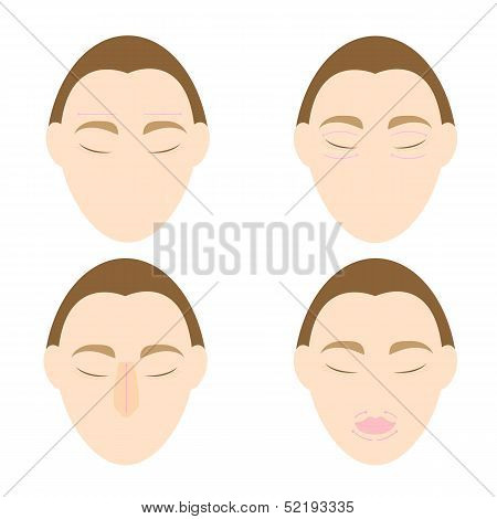 Woman Easy Massage Anti Face Wrinkle 1
