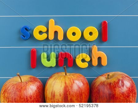 School Lunch Concept