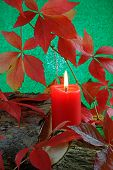 Autumn Candle