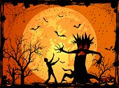 Постер, плакат: Scary Tree