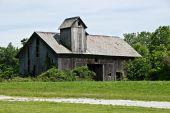 Old Weathered Gray Barn