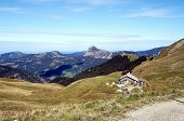 picture of einstein  - Landscape in the Allgau Alps in Tyrol - JPG