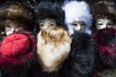 Mannequin In Furry Hat poster