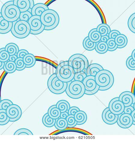 Swirly cloud