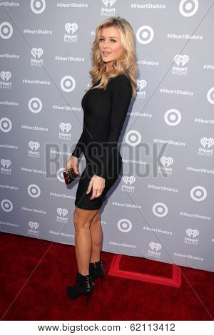 LOS ANGELES - MAR 24:  Joanna Krupa at the Album Release Party For Shakira's Exclusive Deluxe Edition at Target on March 24, 2014 in Burbank, CA