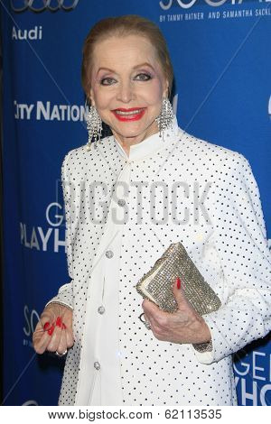 LOS ANGELES - MAR 22:  Anne Jeffreys at the Backstage At The Geffen Gala at Geffen Playhouse on March 22, 2014 in Westwood, CA