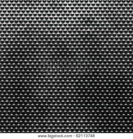 Grunge polished metal doted background