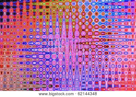 Rainbow of Blue, Purple and Red - Beautiful Color Background and Screensaver Patterns