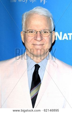 LOS ANGELES - MAR 22:  Steve Martin at the Backstage At The Geffen Gala at Geffen Playhouse on March 22, 2014 in Westwood, CA
