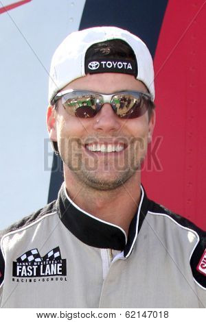 LOS ANGELES - MAR 15:  Colin Egglesfield at the Toyota Grand Prix of Long Beach Pro-Celebrity Race Training at Willow Springs International Speedway on March 15, 2014 in Rosamond, CA