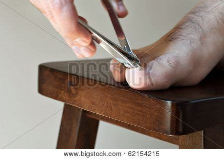 Clipping Toenails