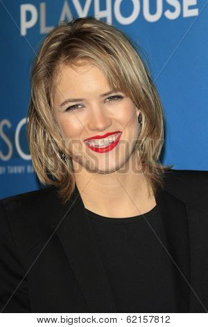 LOS ANGELES - MAR 22: Cody Horn at the Geffen Playhouse's Annual 'Backstage At The Geffen' Gala at Geffen Playhouse on March 22, 2014 in Los Angeles, California