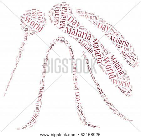 Word Cloud Malaria Disease Related