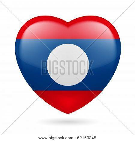 Heart icon of Laos