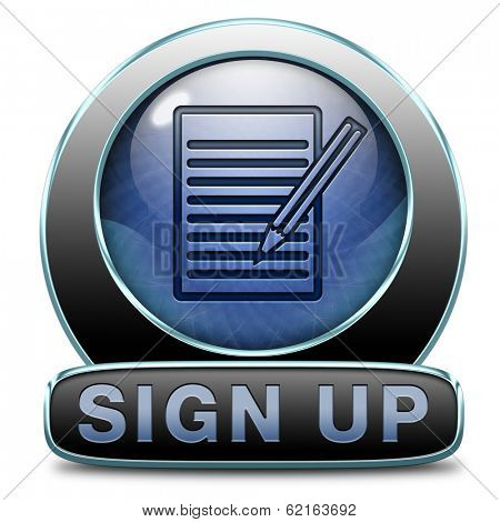sign up or apply now and subscribe here for membership. Fill in application form.