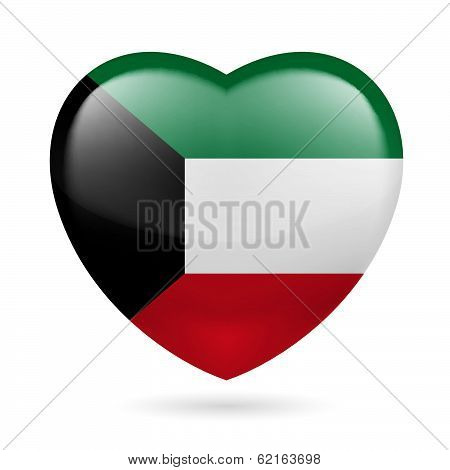 Heart icon of Kuwait