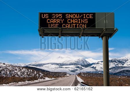 Road Conditions Sign