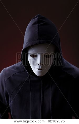 Man Wearing Mask