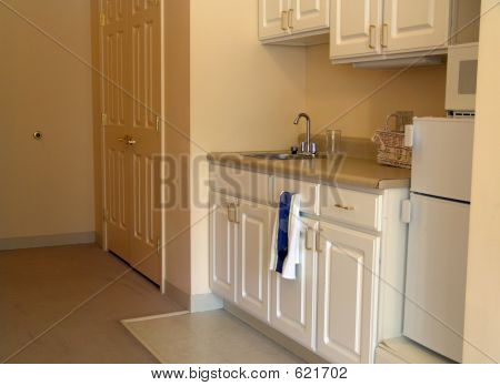 Small Kitchen In Apartment