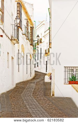Spanish City Street