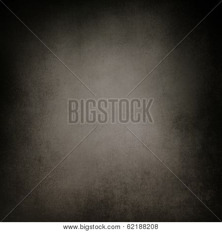 Abstract Black Background, Old Black Vignette Border Frame White Gray Background, Vintage Grunge Bac
