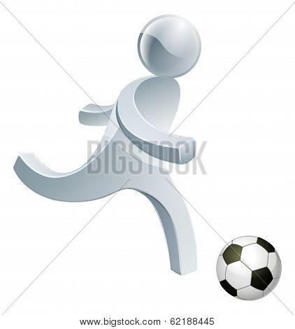 Soccer Football Person Mascot