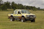 Yellow Mitsubishi Colt Rodeo Twin Cab