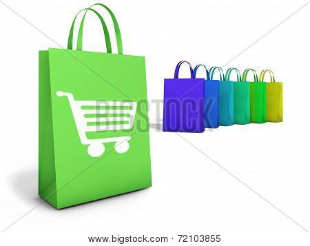 Shopping Bags Online E-commerce