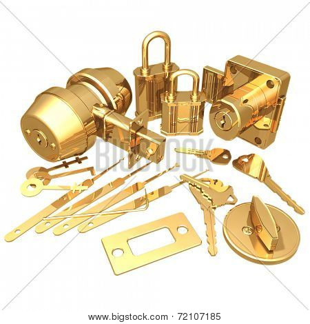 Gilded Locksmith