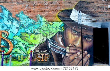 Street art Montreal Rap