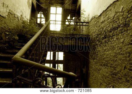 Stairway In Ruins