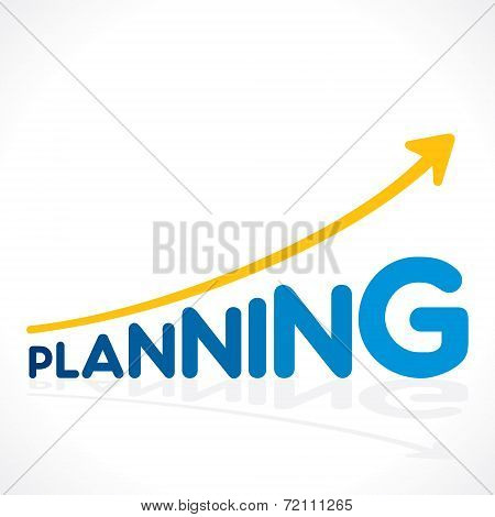 creative planning word graph vector