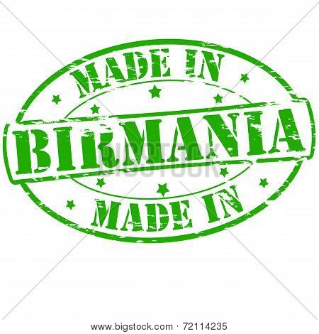 Made In Birmania
