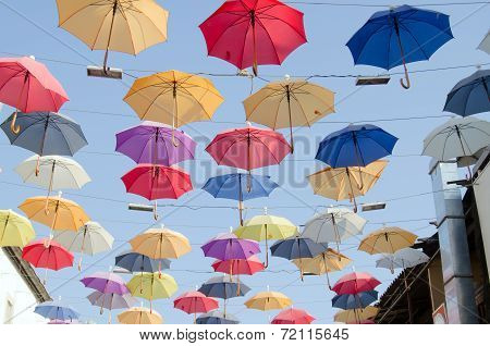 Umbrellas in the Sky, Antalya