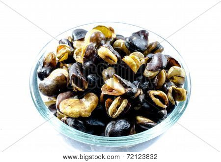 Fava Bean, Roasted And Salty Background