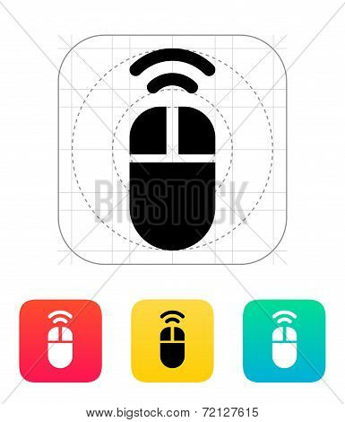 Wireless mouse icon.