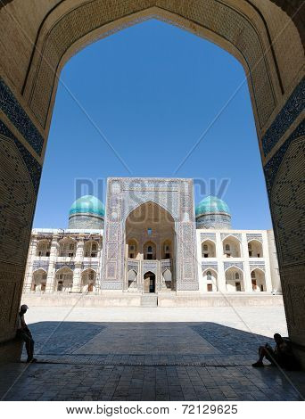 View Of Mir-i-arab Medressa From Kalon Mosque - Bukhara